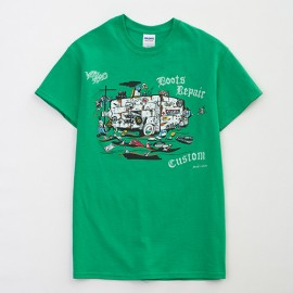 Fukurokuju 10th Anniversary Tee GREEN (2012)