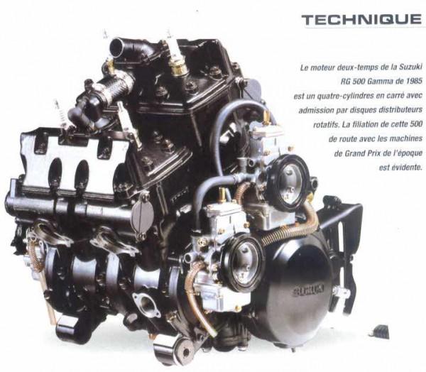 rgv 500 gamma motore foto