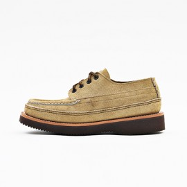 Fishing Oxford Tan Laramie Suede Double Moccasin (2018)