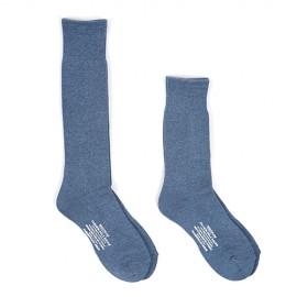 CUSHION SOLE SOCKS BLUE