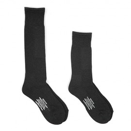 CUSHION SOLE SOCKS BLACK
